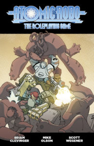 Atomic Robo RPG Cover